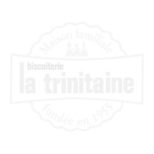 Galettes pur beurre nappées chocolat noir - 400g