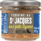 Terrine de Saint Jacques et petits légumes