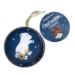 Boule de Noël Chouette et Ourson