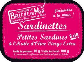 Sardinettes à l'huile d'olive vierge extra
