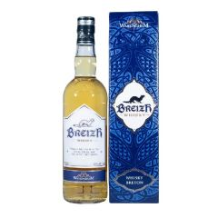 Whisky breton blended breizh 70cl