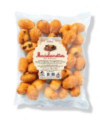 Bag of mini madeleines with raisins
