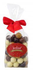 Crousty perles chocolat ruban rouge