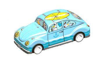 Coccinelle VW bleue garni de galettes 110g