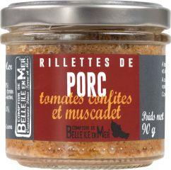 Rillettes de porc aux tomates confites et Muscadet