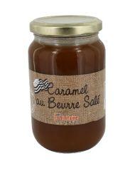 Crème de caramel au beurre salé pot 400g