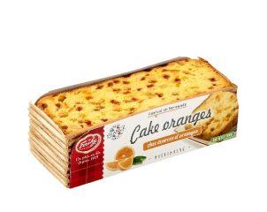 Cake aux oranges pré-tranché