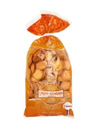 Bag of mini butter biscuits