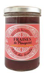 Confiture de fraises 220g