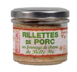 Rillettes de porc au fromage de chèvre de Belle-île