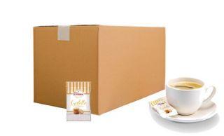 Carton vrac de mini galettes bretonnes pur beurre - Bord de tasse