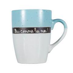 """Mug """"bleu comme la mer"""""""