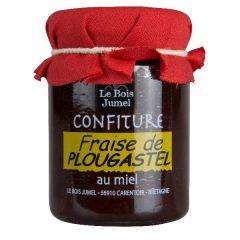 Confiture de fraise de Plougastel au miel 120g