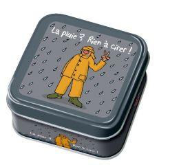 """Caramels au beurre salé boîte 45g décor """"Rien à cirer"""""""