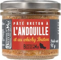 Pâté breton à l'andouille et au whisky de Belle-île