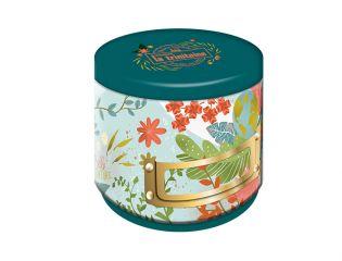 Boîte ronde Verte Galettes aux Pépites de Chocolat