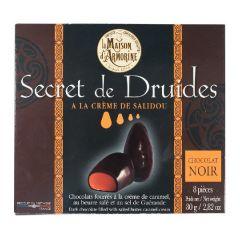 """Chocolat noir """"secret des druides"""" fourrage salidou"""