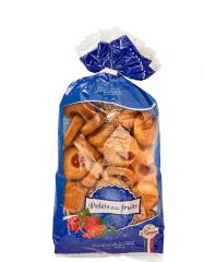 Bag of thick buttle biscuits with fruits