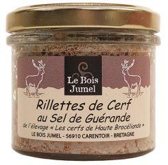 Rillettes de cerf au sel de Guérande