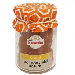 Bonbons de miel nature en pot 70g