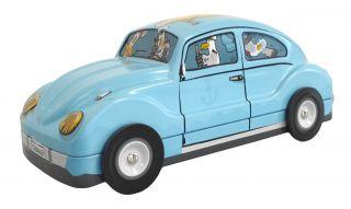 Coccinelle VW bleue garnie de galettes 110g