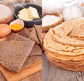 Êtes-vous plutôt sarrasin ou froment, crêpe ou galette ?